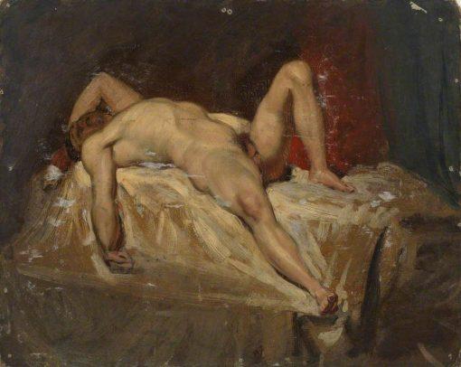 Male Nude Lying Down