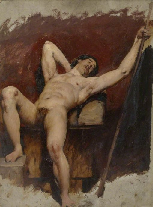 Reclining Male Nude