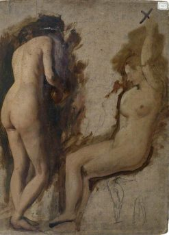 Two Female Nudes | William Etty | Oil Painting