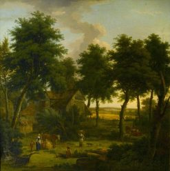 Landscape with Figures | George Lambert | Oil Painting
