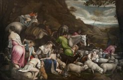 Laban and His Flock | Jacopo Bassano | Oil Painting