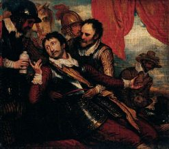 The Death of Sir Philip Sydney (study) | Benjamin West | Oil Painting