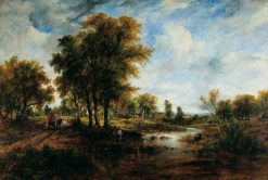 A Landscape | Frederick Waters Watts | Oil Painting