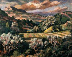 Provencal Landscape | Roger Eliot Fry | Oil Painting