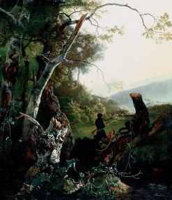 Landscape with Hunters | Adam Pynacker | Oil Painting