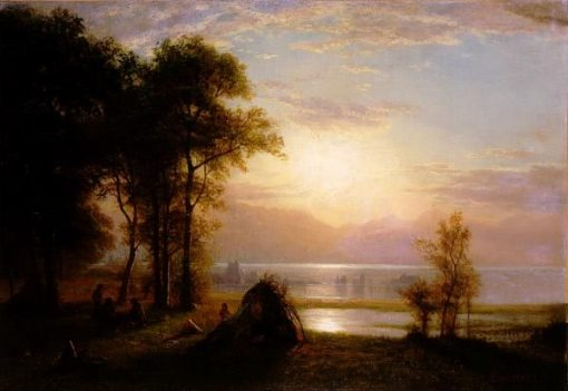 Indian Encampment | Albert Bierstadt | Oil Painting