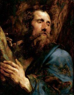 Saint Andrew | Anthony van Dyck | Oil Painting