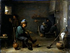 Fiddler in a Tavern | David Teniers II | Oil Painting