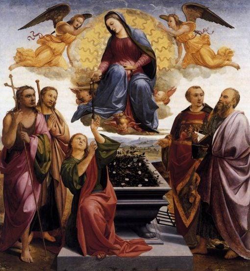 Assumption of the Virgin | Francesco Granacci | Oil Painting