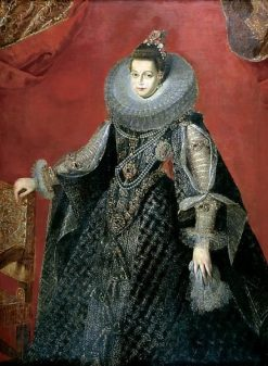 Portrait of the Infanta Isabella Clara Eugenia | Gaspard de Crayer | Oil Painting