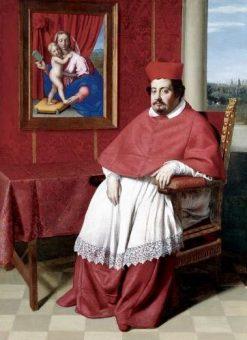 Portrait of Cardinal Rapaccioli | Giovanni Salvi da Sassoferrato | Oil Painting