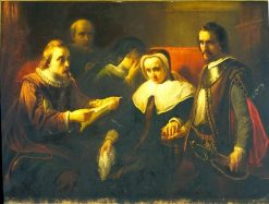 Maria van Utrecht Receiving the Last Letter from her Husband
