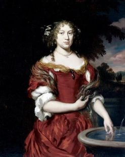 Portrait of Anna Hofstreek | Nicolaes Maes | Oil Painting