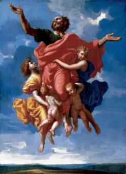The Ecstasy of Saint Paul | Nicolas Poussin | Oil Painting