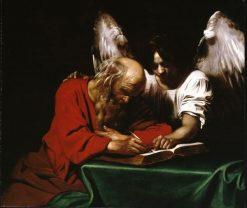 Saint Matthew and the Angel | Nicolas REgnier | Oil Painting