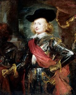 Portrait of Archduke Ferdinand | Peter Paul Rubens | Oil Painting