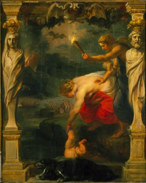 Achilles Dipped into the River Styx | Peter Paul Rubens | Oil Painting
