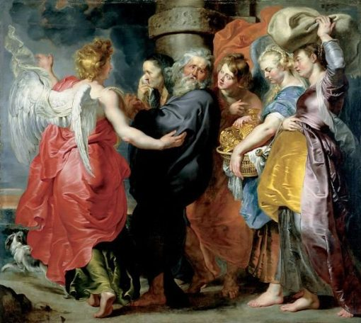 The Departure of Lot and His Family from Sodom   Peter Paul Rubens   Oil Painting