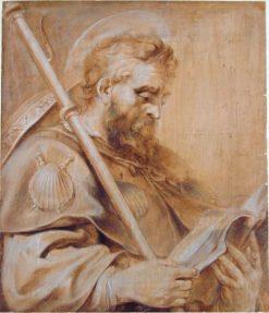 Saint James the Elder | Pieter Claesz. Soutman | Oil Painting