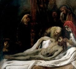 The Lamentation | Rembrandt van Rijn | Oil Painting