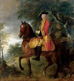 Lieutenant General Philip Honywood   Thomas Gainsborough   Oil Painting