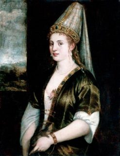 La Sultana Rossa | Titian | Oil Painting