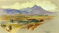 View of Palermo   Edward Lear   Oil Painting