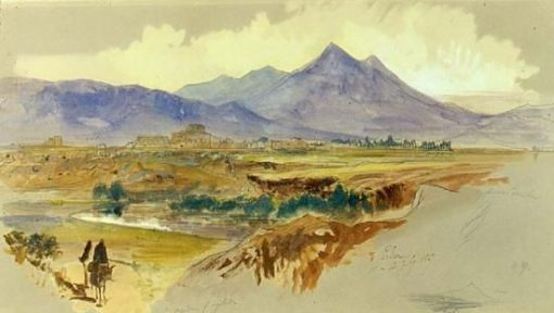 View of Palermo | Edward Lear | Oil Painting