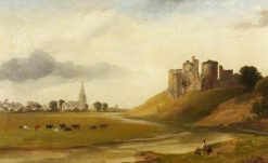 Kidwelly Castle | William Butler | Oil Painting
