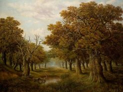 In the New Forest | Charles Leaver | Oil Painting