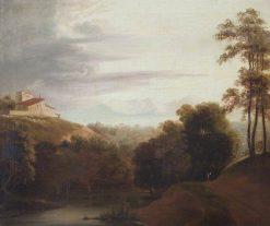 River Landscape | John Hoppner | Oil Painting
