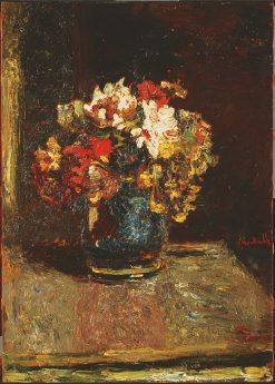 Bouquet | Adolphe Joseph Thomas Monticelli | Oil Painting