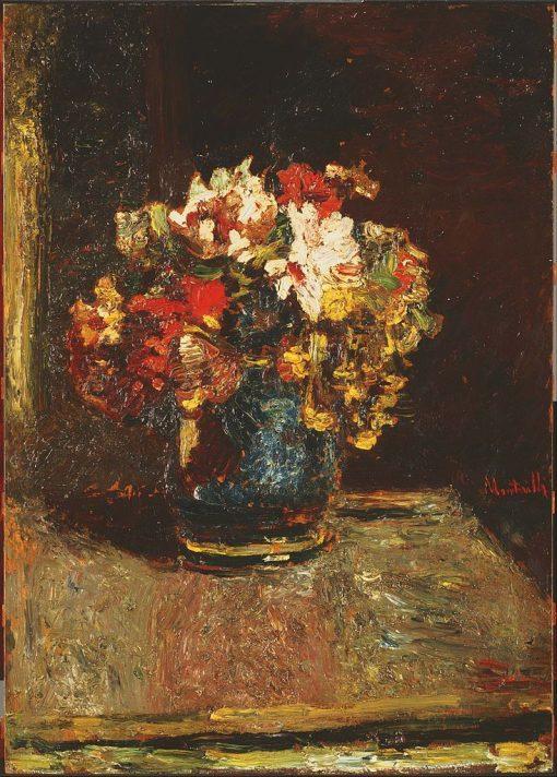 Bouquet | Adolphe Joseph Thomas Monticelli | Oil Painting