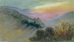 Mountain Landscape   Hercules Brabazon Brabazon   Oil Painting