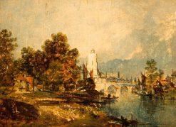 On the Rhône | James Holland | Oil Painting