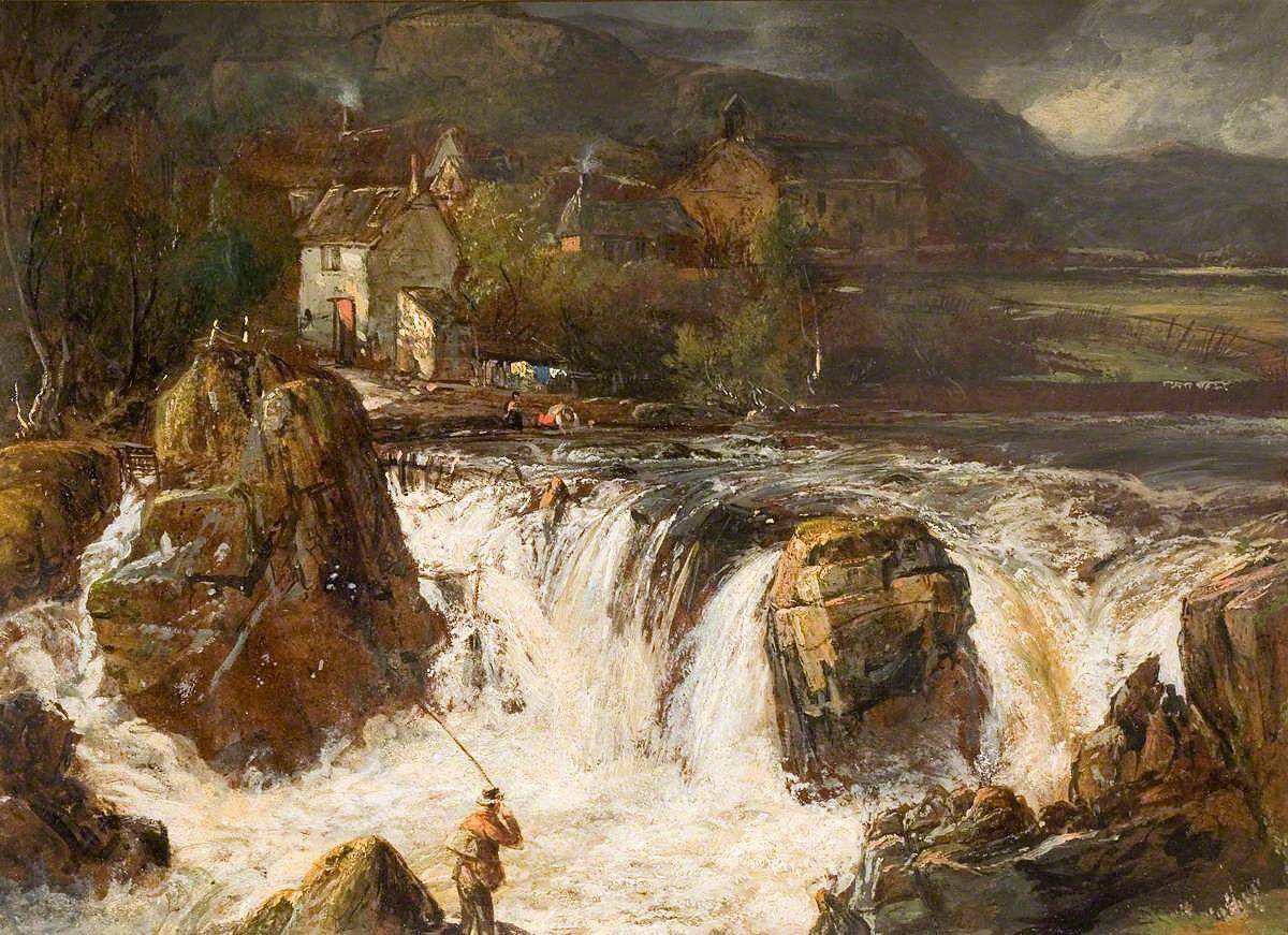 Llangollen | James Holland | Oil Painting