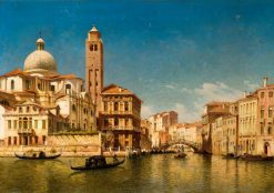 Venetian Scene | John O'Connor | Oil Painting