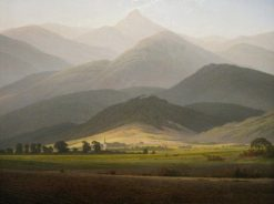 View of Warmbrunn | Caspar David Friedrich | Oil Painting
