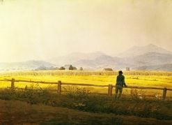 View of Schmiedebergerkamm | Caspar David Friedrich | Oil Painting