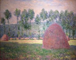 Haystacks at Giverny | Claude Monet | Oil Painting