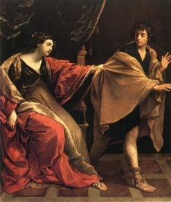 Joseph and Potiphar's Wife | Guido Reni | Oil Painting