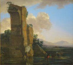 Italian Landscape | Jan Asselijn | Oil Painting
