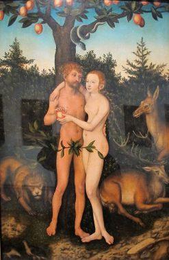 Adam and Eve | Lucas Cranach the Elder | Oil Painting