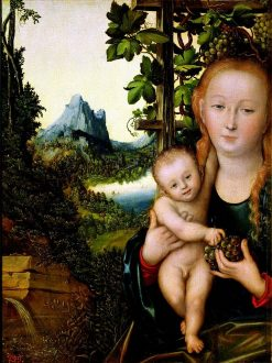 Madonna and Child   Lucas Cranach the Elder   Oil Painting