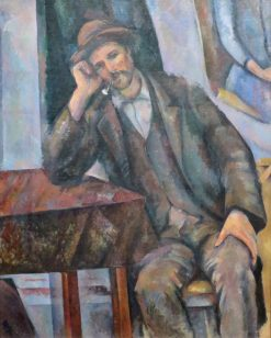 Man Smoking a Pipe | Paul CEzanne | Oil Painting