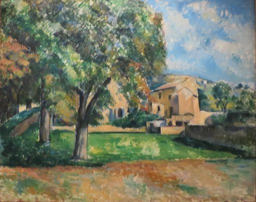 Trees in a Park | Paul CEzanne | Oil Painting