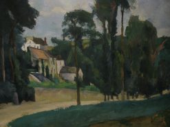 Road at Pontoise | Paul CEzanne | Oil Painting