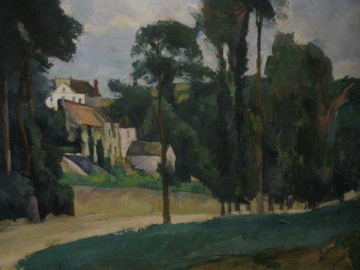 Road at Pontoise | Paul CEzanne | Oil Painting
