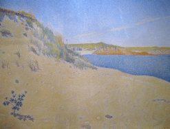 Beach at Saint-Briac | Paul Signac | Oil Painting