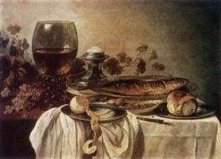 Breakfast Piece | Pieter Claesz | Oil Painting